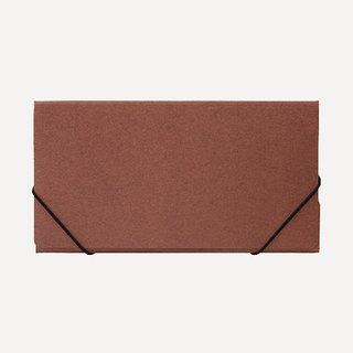 Small dark brown folder ·