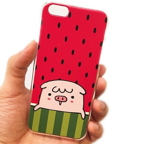 QQ pig watermelon iPhone6 ​​/ 6s
