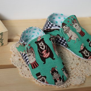 Animal Circus - Lake Green toddler shoes