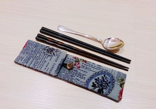Hands chopsticks sets, bags of chopsticks, chopsticks combination special (can put two pairs of chopsticks. Spoon. Fork) A294