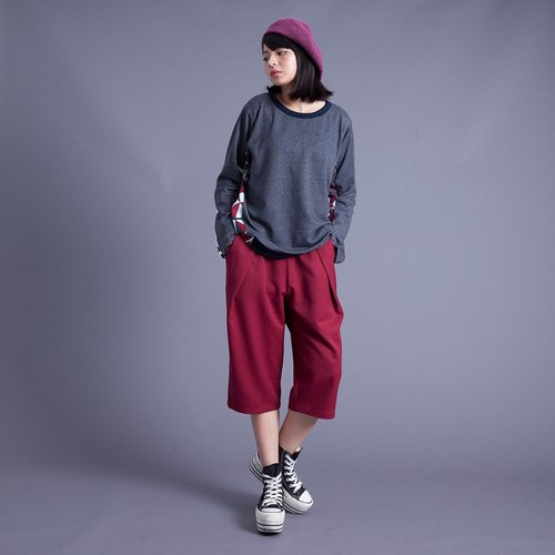 Hong Kong Design Discount Pants - Red