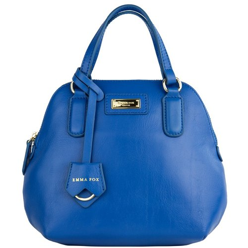 Lexington leather side shoulder bag / Blue