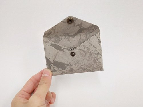 Origami Series - Marble envelope card holder / purse