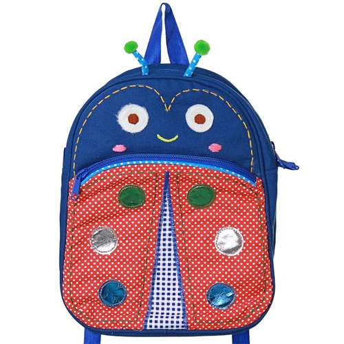 Tibet after Blue Dimples Smile Ladybug Backpack