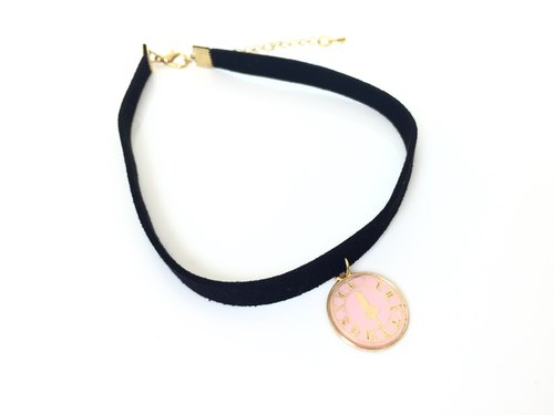 """Alice Necklace - pink section."""