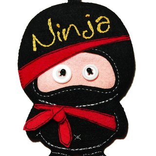 Ninja Card Case - Black
