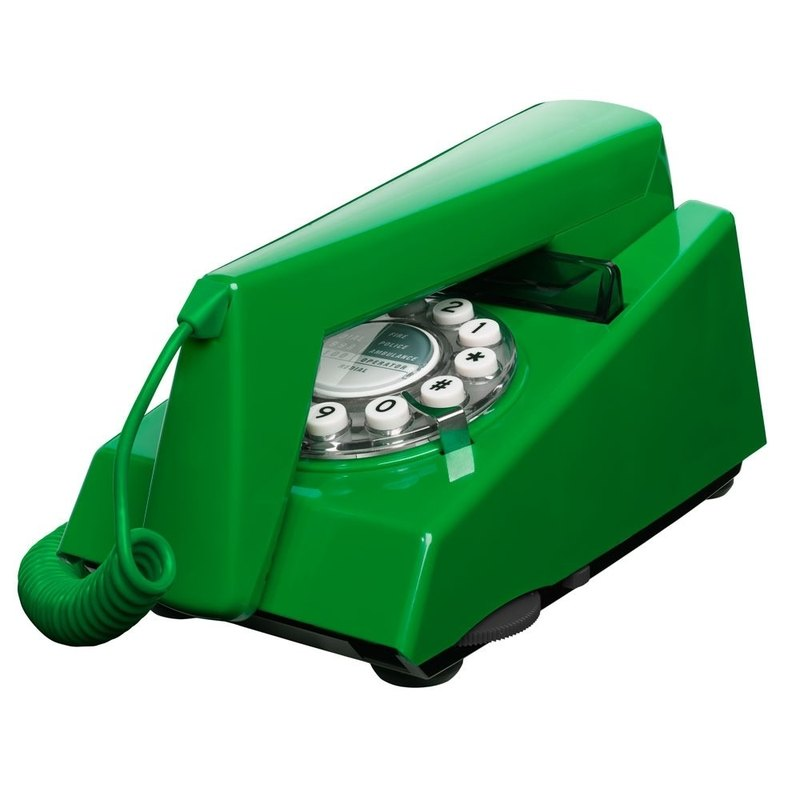 SUSS- Britain imported Trimphone classic retro phone / industrial style (emerald green) --- spot free shipping