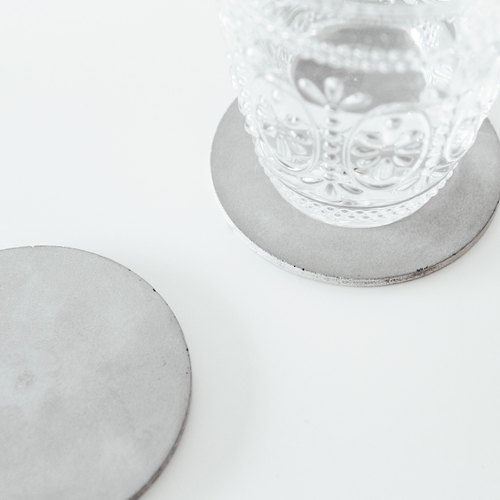 Cement small round coasters