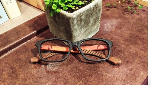 Taiwan handmade glasses [MB] Action series exclusive patented touch technology Aesthetics artwork