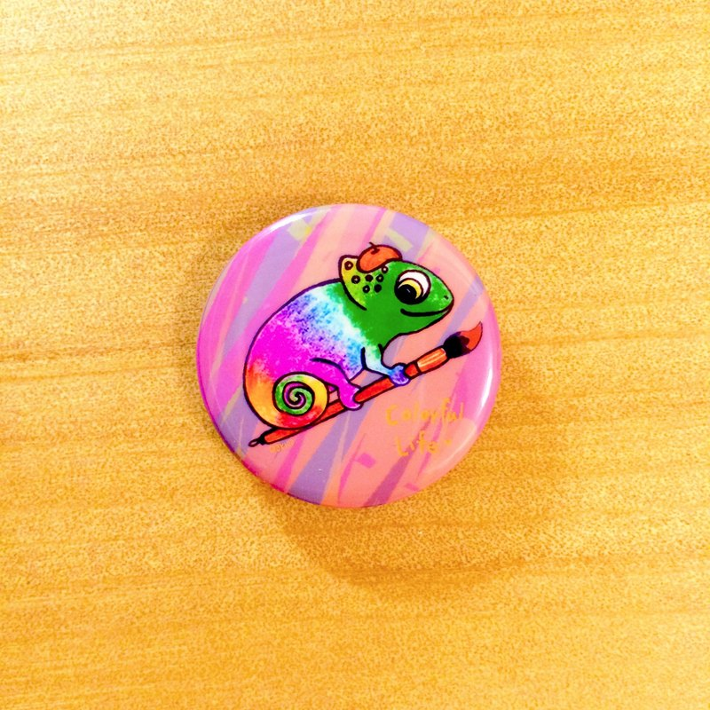 Darwa - Little Painter Chameleon - Badge