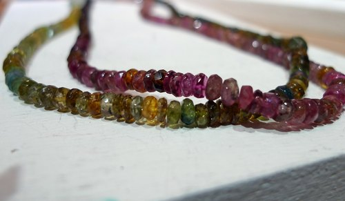 Rainbow _ tourmaline necklace