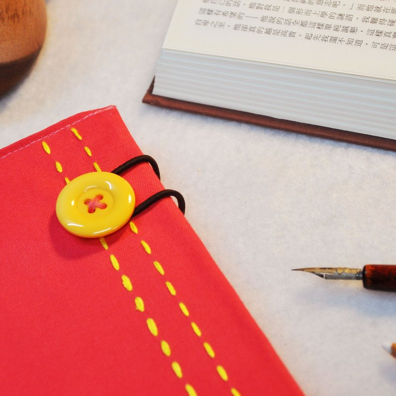 Hand clothes for the book [notebook] Etude bright pink yellow section X subsection (Big = A5)