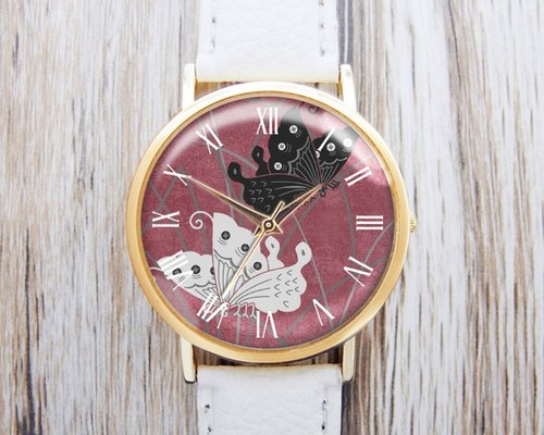 Butterfly Effect - fashion leather strap watch ︱ ︱ ︱ men and women popular to wear with the best holiday gift items