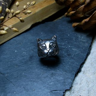 Animal Series / Cat or Dog / Silver925 / Sterling Silver / Irregular / Hand Ring /