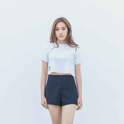Thara Basic shorts - black