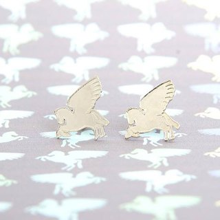 Pegasus stud earrings, Little Pegasus earrings