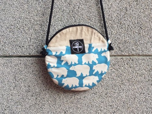 toutoubags/ big pie bags-polar bear