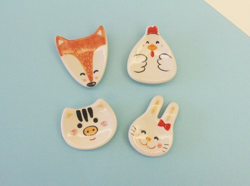Spa smaller animal was ~ chopsticks holder (a set of four)