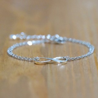 ITS-B005 [925 Silver Series, To infinity and beyond] 925 Silver Bracelet