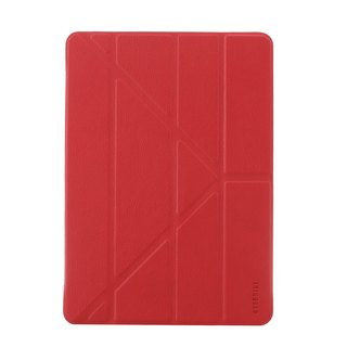 "OVERDIGI Fiber iPadpro9.7 ""Multifunction Protection sleeve elegant red"