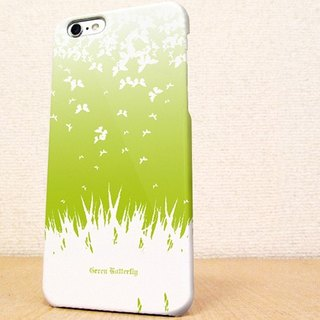 (Free shipping)iPhone case GALAXY case ☆Green butterfly