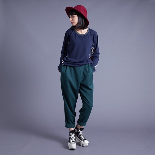 Hong Kong Design hypotenuse Classic Pants - Green