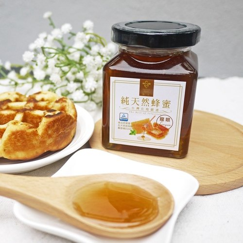 Queen bee honey - Taiwan natural - Souvenir / Mother's Day / Sweet Gifts / Health Gifts - longan honey -250g