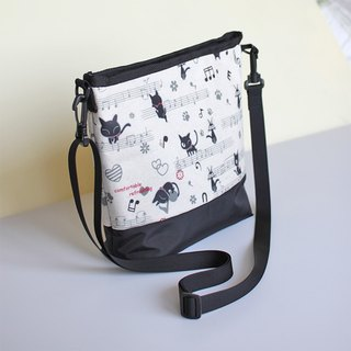 Cute cat messenger bag (only one)