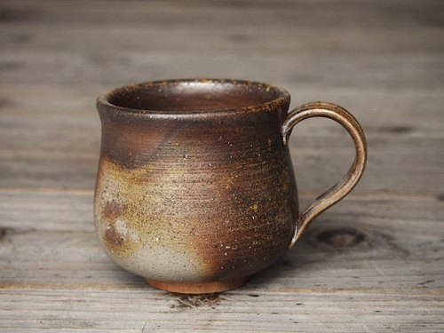 Bizen coffee cup (medium) _c2-040