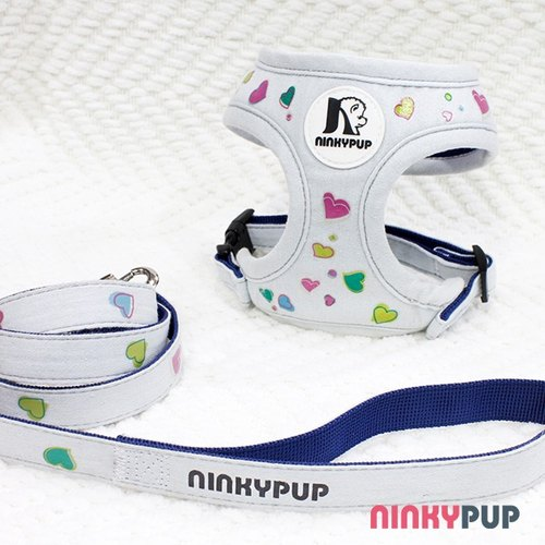[Name of Custom] candy loving pet reflective harness traction rope group hairy child gift