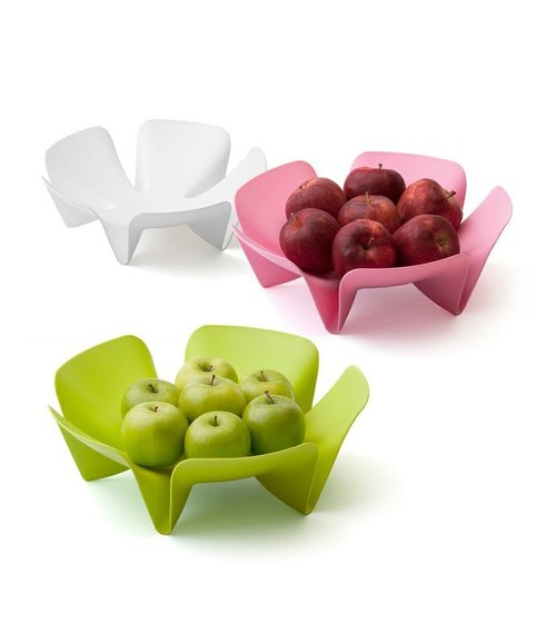 QUALY flower color fruit plate