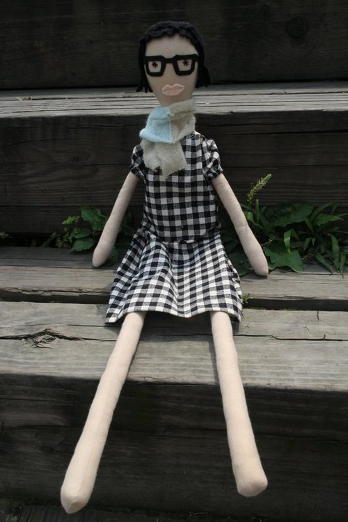 Semi-custom handmade doll _Emma