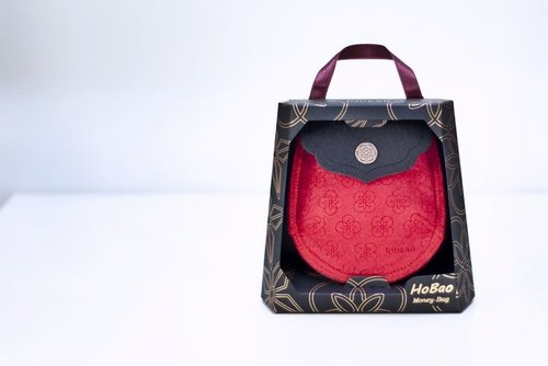 Habao charge full bag - red bag full black cover charge