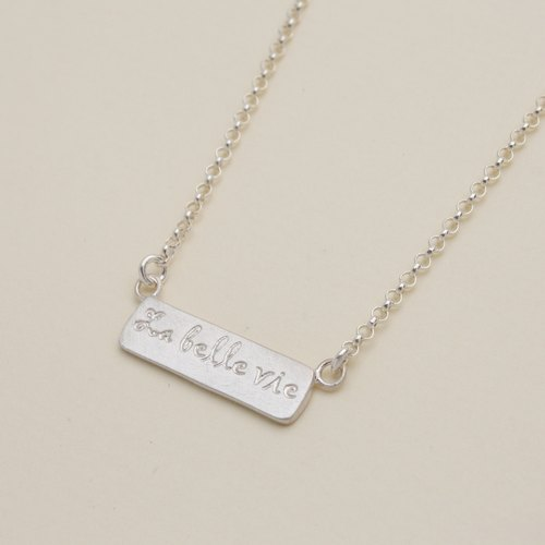 La Belle Vie Necklace