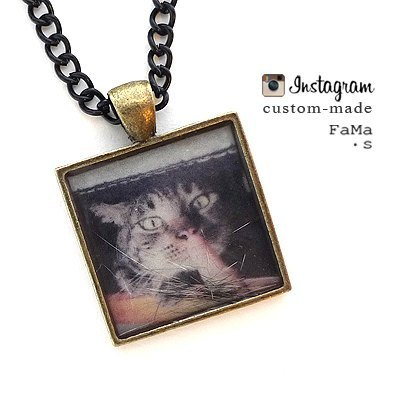 ** Customized ** FaMa ‧ s photo becomes Necklace
