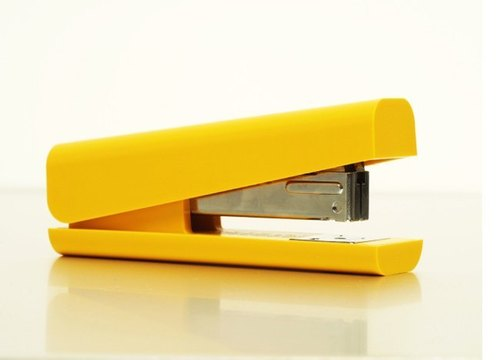 Anything - stapler / yellow