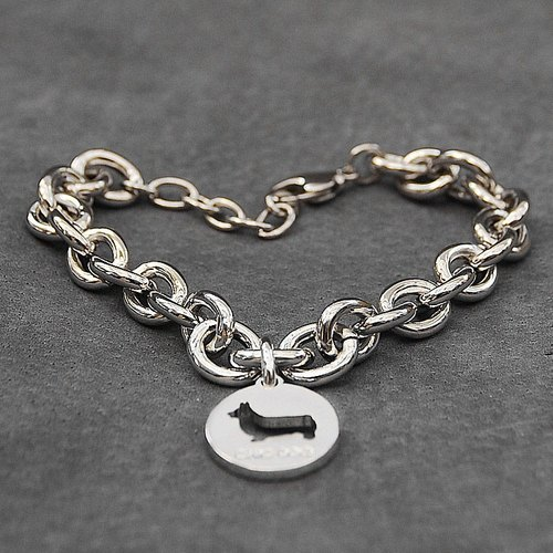 [] Adults Bracelet CHIC DOG - pure love bracelet models