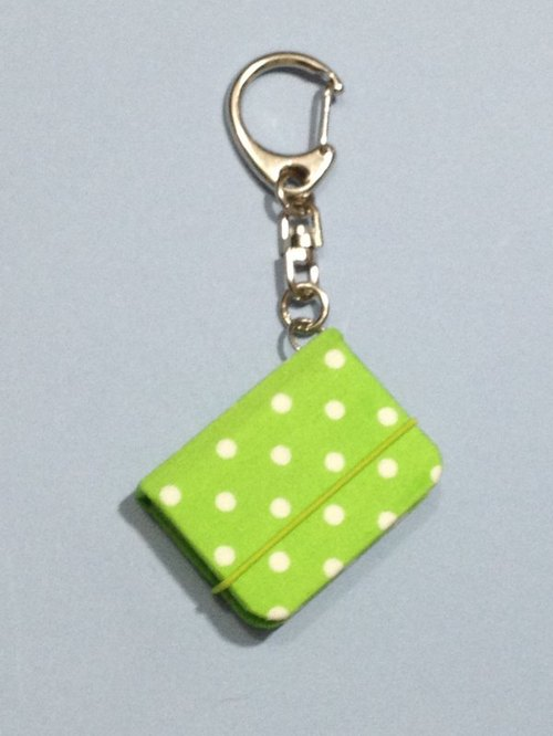 :: Bobo little mini notebook key chain