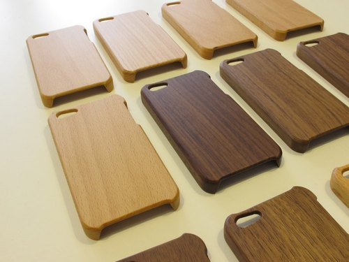 IPhone Phone Case logs - beech