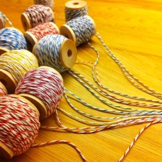 Color / 3 colors cotton group - a total of 50 yards optional 5 colors (logs small spool section)
