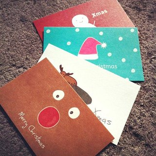 KerKerland-Christmas small card four groups (business card size)