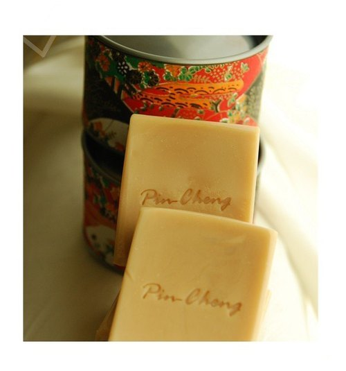 New Year gift - a small orange breast milk soap