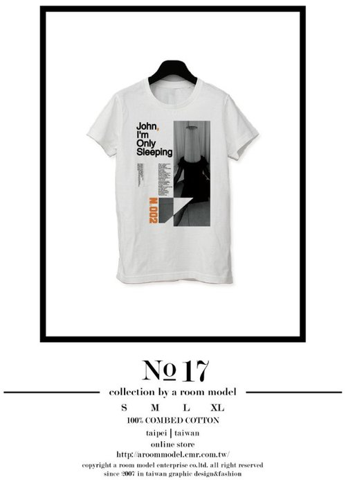 WEEKEND HIPPIE - │ NO.17 SLEEPING │ PHOTOGRAPH POSTER T-SHIRT