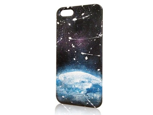 Sweet4Girls exclusive design phone shell painted sky universe gravity models ○ ★ iPhone 6/5 / 5s / 4s
