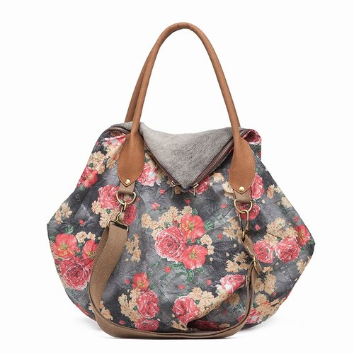 Yong Yong original 2015 new canvas shoulder bag early Dongkuan cotton female literary hand bag big bag diagonal