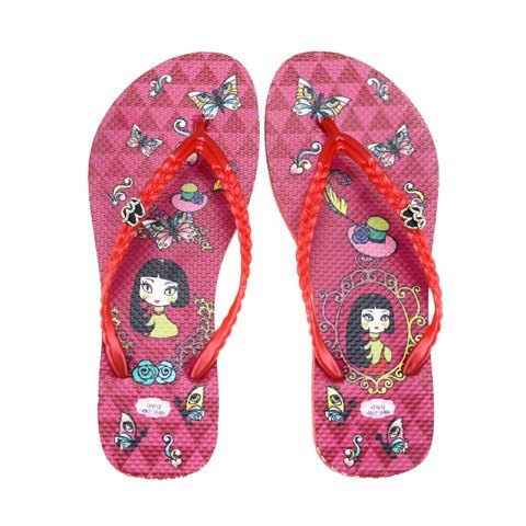 QWQ creative design flip-flops - Meng female [FA0171501]