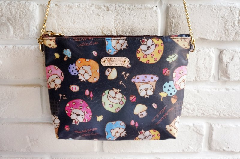 Law fight fashion chain bag - mushroom mushroom fight