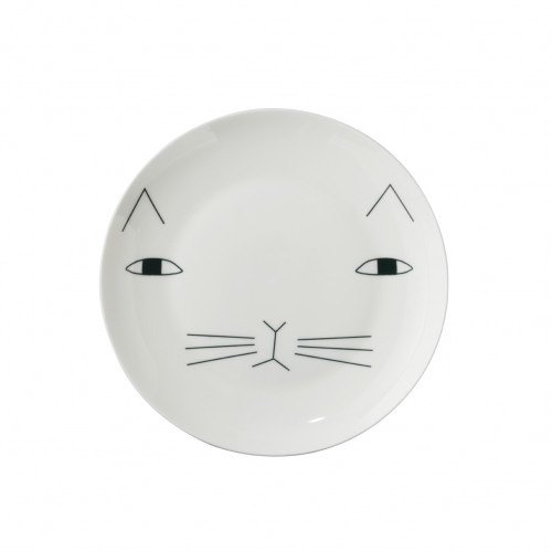 Mog bone china plate | Donna Wilson