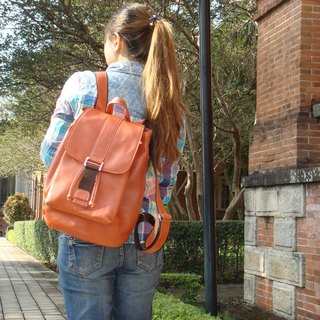 """Naughty girl"" _ orange beam port Backpack"