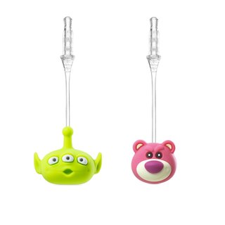Bone / Charm Plug Bouncing dust plug - Bear brother / three-eyed alien